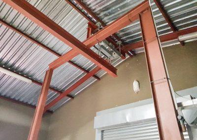 Inside Steel Structure 2