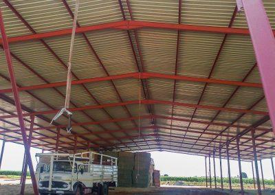 Inside Steel Structure 3
