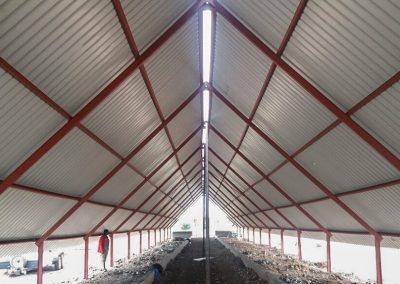 Inside Steel Structure 4