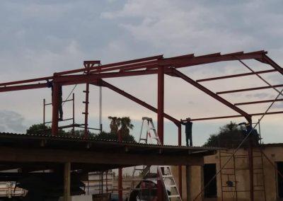 Steel Structure in Petit Area